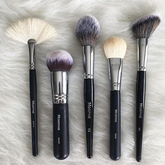Morphe makeup brushes