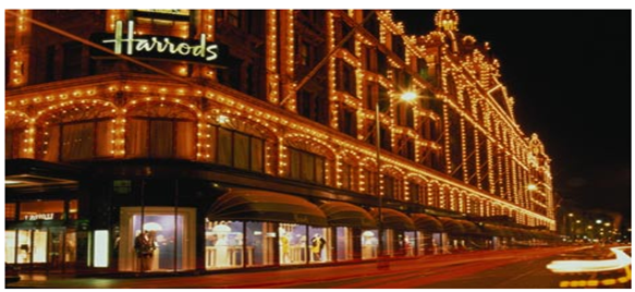 I have been working at Harrods part-time (More than a year) Pros-Very good employee discounts, including business clothes discount which is 50%-good commissions for non-temps-flexible rotas-1 hour break plus 30 mins paid tea-break. Cons. no major cons apart from the fight for commission and the lengthy hiring process.