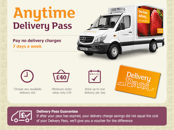 20 off sainsbury 39 s delivery pass voucher codes discount. Black Bedroom Furniture Sets. Home Design Ideas
